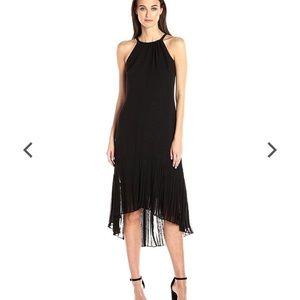 Vince Camuto Chiffon Halter Dress Black Size 8 NWT